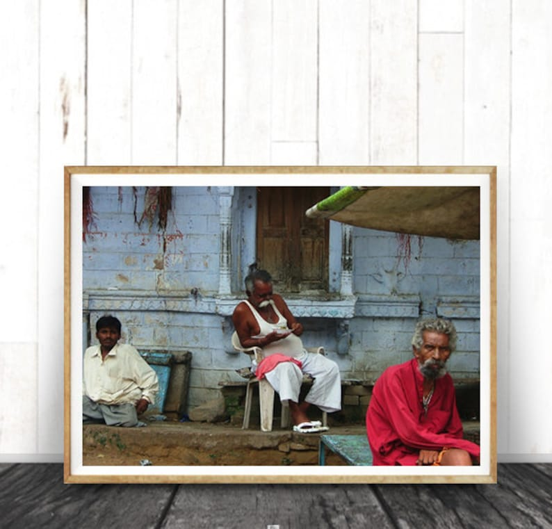 Photography India Decor Digital Download Indian Photo Indian Art Indian daily lives Home Decor Gift Indian Mans Wall Art