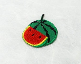 Watermelon Iron on Patch(S) - Watermelon Applique Embroidered Iron on Patch-Size 2.9x3.1cm