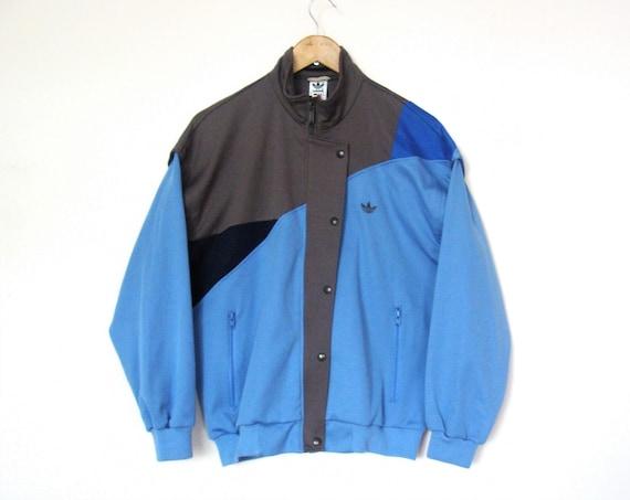 Retro ADIDAS Tracktop Jacket Sportswear Colorblock Jacket Size M