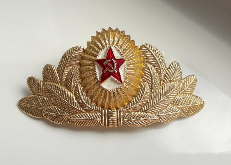 5 Soviet USSR badges Military Troops Communication and Signalers shoulder pins
