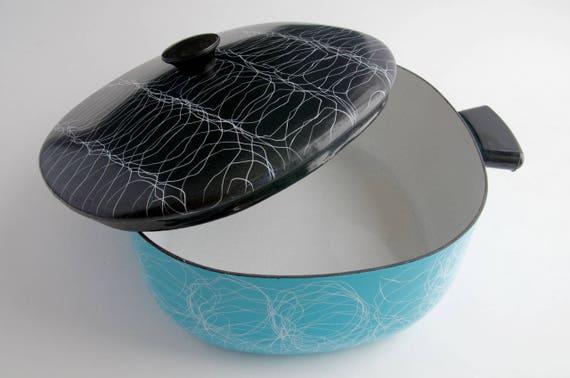 Emailliertem Stahl Serendipity Spaghetti entwickelt Aqua und   Etsy