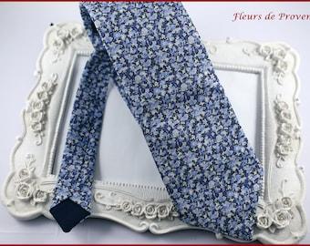 39fa1707287da Cravate Tissu Liberty Pepper blue - Homme / enfant