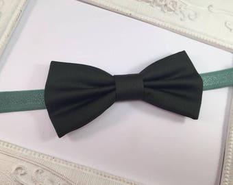 Bow tie elegant Green Khaki - child