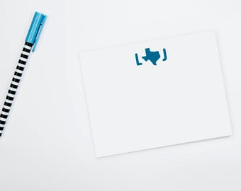 Personalized Note Cards - Texas