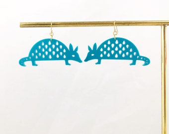 Armadillo Earrings