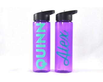 Personalized Sport Bottle Purple
