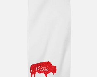 Personalized Beach Towel - Mystic