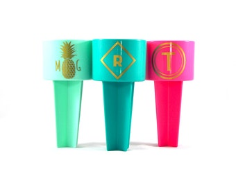 Monogram Beach Spiker