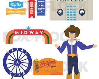 Digital Download - State Fair Party Printables