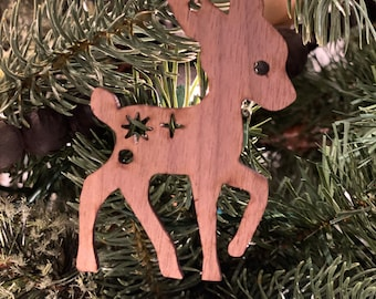 Woodland Friends Ornaments