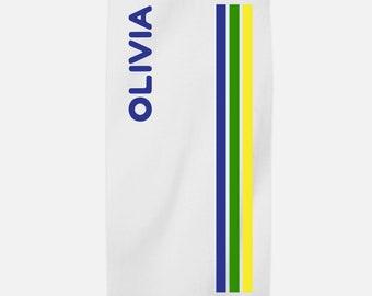 Personalized Beach Towel - Camp Mystic
