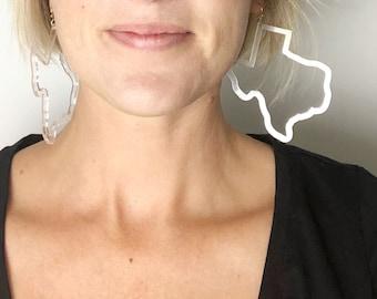 Everything is Bigger in Texas Earrings