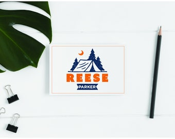 Personalized Camp Stationery - Camp Note Cards