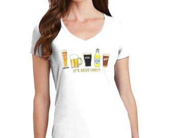 Beer Thirty Color Changing T-Shirt, Beer Thirty T-Shirt, Beer Thirty, Beer T-Shirt, Beer Shirt, Beer, Color Changing, Beer Gift, T-Shirt