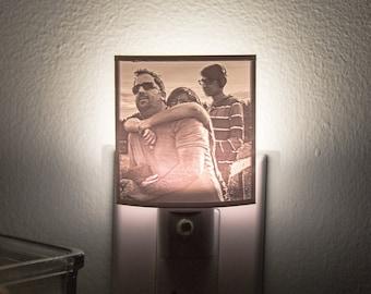 Custom Night Light, 3D Print Lithophane Lamp, Night Light Wall Plug In, Night Light Kids, Lithophane Lamp, Nursery Lamp, Halloween Gift