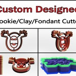 Custom Cookie Cutter, Clay Cutter, Fondant Cutter, Personalized Cookie Cutter Custom Cookie Cutter Design, 3D Print, Labor Day Cookie