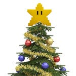 Super Star Decoration, Tree Topper, Star Power, 3D Printed, Christmas Tree Topper, Christmas Ornament, Xmas Tree Topper, Christmas Gift