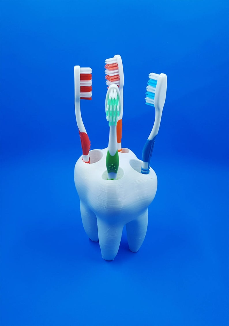 Big Tooth Toothbrush Holder Kids Toothbrush Holder image 0