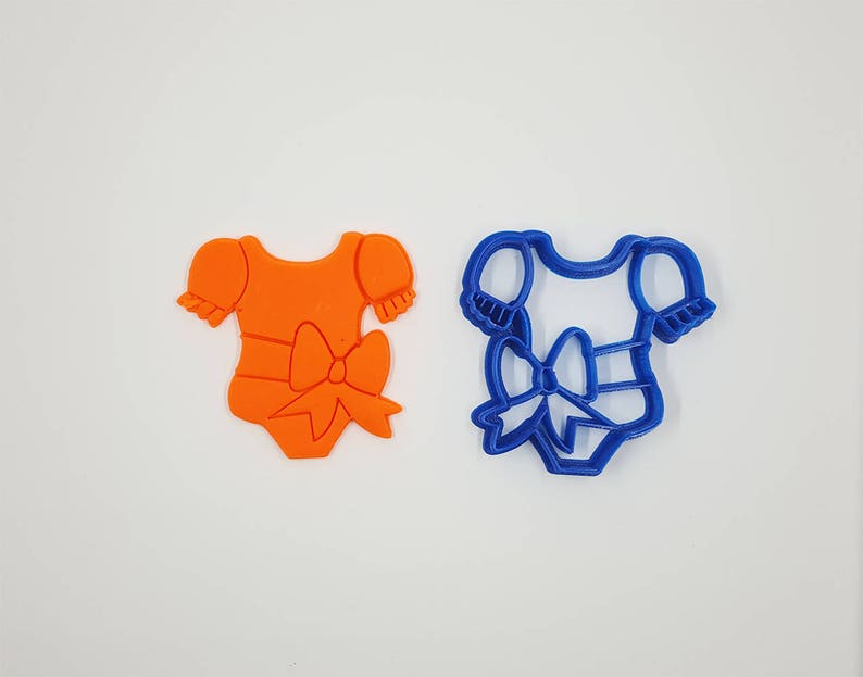 Romper Girl Cookie CutterBakery Cookie Cutter Baby Cookie image 0