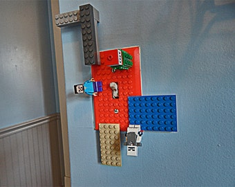 Block Connecting Light Switch Cover, 3D Printed, Great for Kids of any age, Block Connecting Switch Cover, Halloween Gift