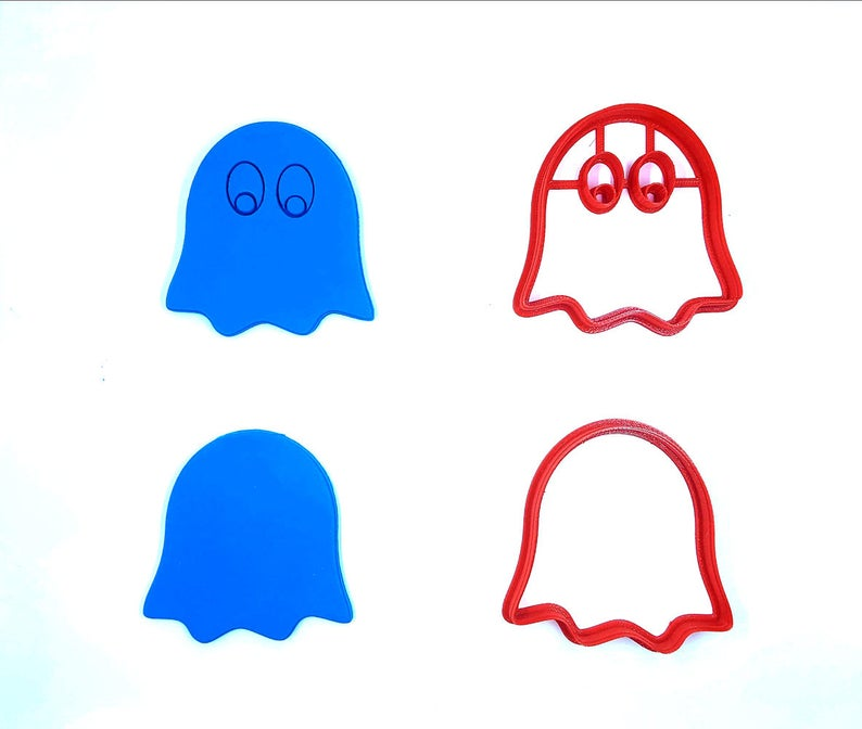 Ghost Cookie Cutter Ghostly Cookie Cutter Clay Cutter image 0