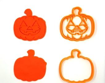 Pumkin Cookie Cutter, Jack O Lantern Cookie Cutter,  Bakery Cookie Cutter, Clay Cutter, Fondant Cutter, FunOrders, Halloween Gift