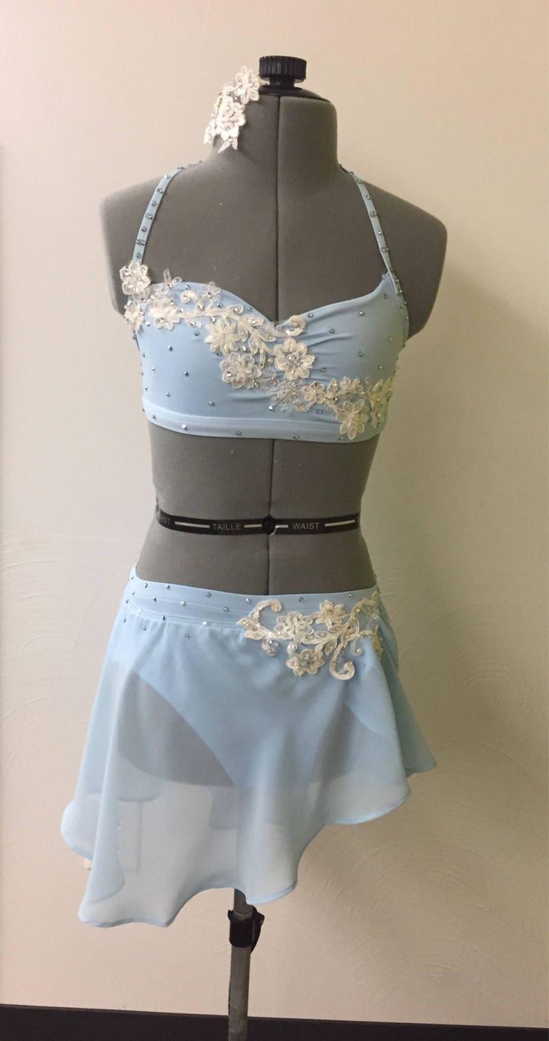474327308076 Light blue lyrical asymmetrical costume | Etsy