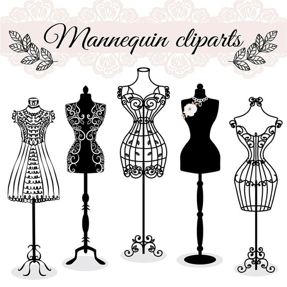 Premium Vector Hand Draw Mannequin Fashion Dress Forms Etsy