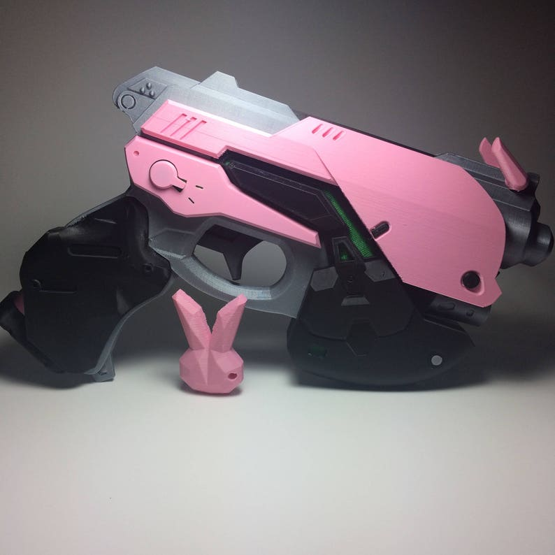 image about Free 3d Printable D&d Miniatures named 3D Posted Overwatch D.va Prop Gun with - totally free transport United states of america