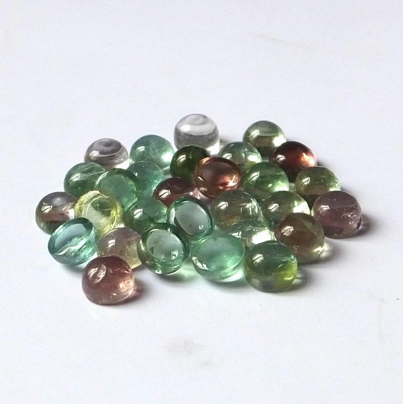 Wholesale Lovely Lot Natural Labradorite 4x4 mm Round Cabochon Loose Gemstone