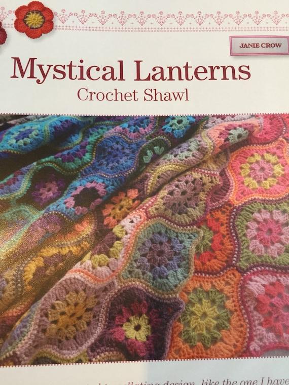 Häkeln Sie Muster Schal elegante mystische Laterne Design von   Etsy