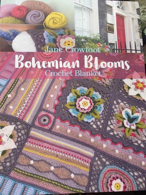 Böhmische Blüten häkeln Musterbuch von Jane Crowfoot mit 96 | Etsy