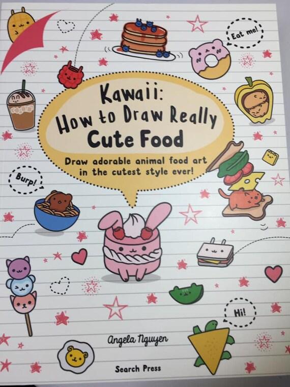Kawaii Comment Dessiner Livre De Nourriture Vraiment Mignon Enseigne Comment Dessiner Avec Des Instructions Claires Etape Par Etape Publie Par Search