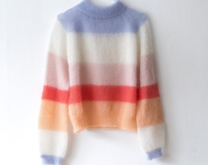 Featured listing image: POLLY PULLOVER Strikkeopskrift (pdf)- DK (danish)
