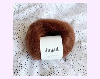 MOHAIR SILK brandy