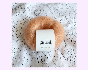MOHAIR SILK Peach