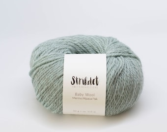 STRIKDET Baby Wool - mint green