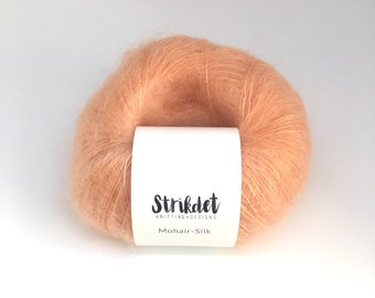 MOHAIR-SILK Peach