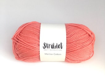 STRIKDET Merino Cotton - flamingo