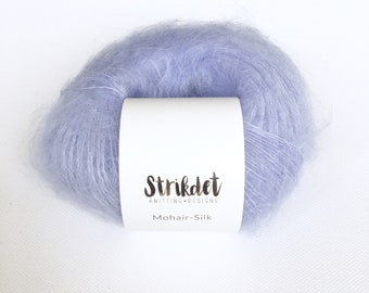MOHAIR-SILK lyseblå / light blue