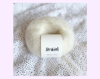 MOHAIR SILK naturhvid / off white