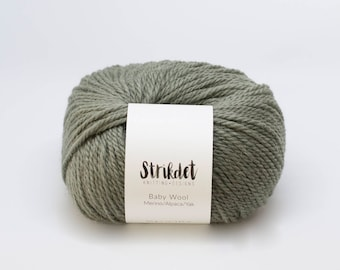 STRIKDET Baby Wool - forrest green