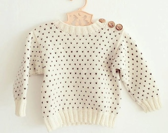 Svends sweater - Knitting pattern
