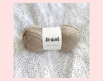 STRIKDET Merino Cotton - beige