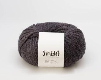 STRIKDET Baby Wool - aubergine