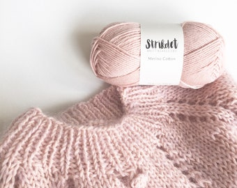 STRIKDET Merino Cotton - Nude