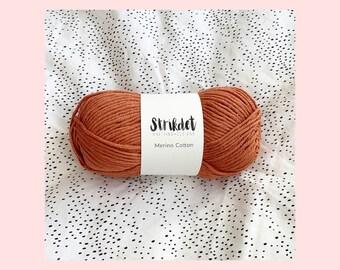 STRIKDET Merino Cotton - Brandy