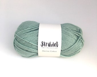 STRIKDET Merino Cotton - mint