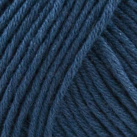 STRIKDET Organic Cotton Marine Blue / Økologisk Bomuld - Marine blå