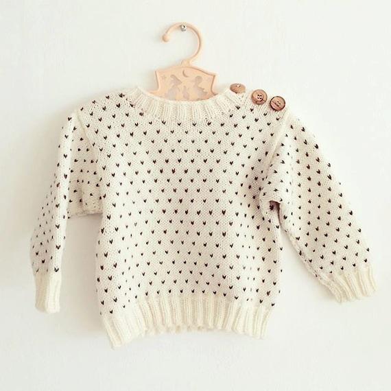 Svends sweater - Knitting pattern